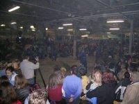 Die Halle war bis auf den letzten Platz voll !!!