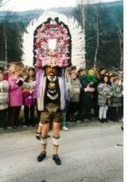 Umzug in Kolsass im Jahre 1984